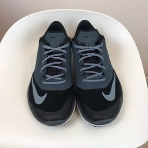Nike black and grey sneakers